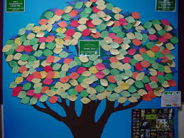 obn a pledge tree project for earth day or week