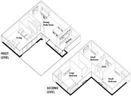 l shaped floor plans three bedroom units housing