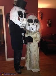 Halloween Costumes Bride Groom Skeleton Bride Groom Halloween Costume