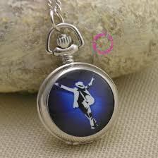ladies necklace watch images Fashion michael jackson quartz pocket watch necklace women ladies jpg