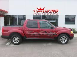 Ford Explorer Truck - maroon sport trac rollin u0027 with smokin u0027 graphics topperking