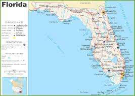 Orlando Fl Map by Florida Map With Highways Deboomfotografie