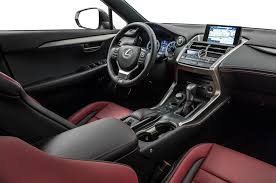 lexus f sport red interior the 2015 lexus nx compact the crossover of luxury and