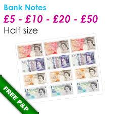 edible money half size 5 10 20 50 bank note edible prints for unique photo