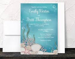 Wedding Invitations Under 1 Jellyfish Wedding Invitations For Your Aquarium Or Beach