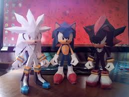 Sonic The Hedgehog Papercraft - silver the hedgehog papercraft papercraft paradise papercrafts