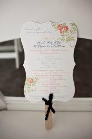 Wedding Ceremony Program Fans Wedding Trends Wedding Programs Program Fans Wedding