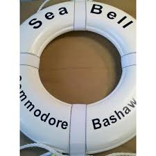personalized preserver personalized boat name ring large