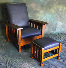 Bow Arm Morris Chair Plans Mission Morris Chair Ebay