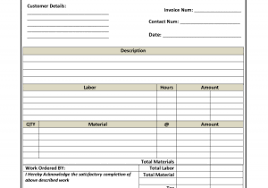 sample invoices for small business and past due invoice letter