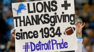 detroit lions a thanksgiving day tradition nfl football