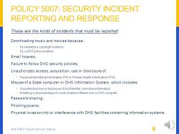 Computer Security Incident Report Template by Dhs Security Incident Reporting And Response Security Incident