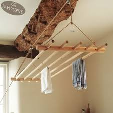 Clothes Line Dryer Indoor Diy Indoor Clothesline Diy Project