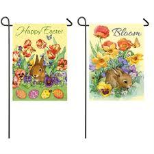 rabbit banner mini bloom rabbit banner flag yankee doodle flag toledo ohio