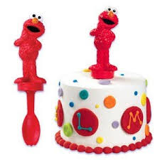 elmo cake topper sesame elmo spoon cake topper kitchen dining