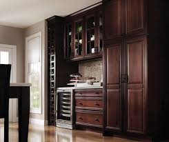 Kitchen Cabinets And Doors Cherry Kitchen With Glass Cabinet Doors Decora
