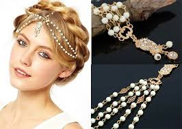 hair ornaments 20 chic indian bridal hair accessories to die for bridal hair