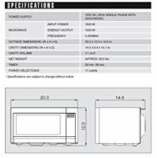 Standard Size Microwave by Microwave Size Socialmediaworks Co
