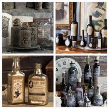 halloween apothecary bottles make n take at decades reclaimed