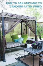 patio furniture 45 phenomenal backyard patio swing images ideas
