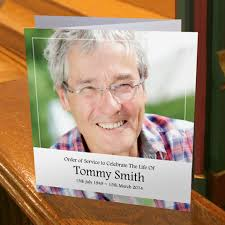 funeral booklets order of service books from sprinter memorial cards keepsakes of