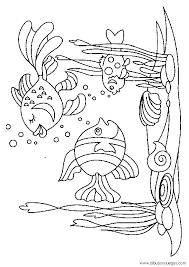 imagenes animales acuaticos para colorear dibujos de animales marinos 012 dibujos y juegos para pintar y