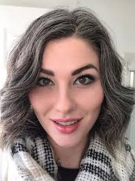 hair frosting to cover gray the 25 best gray hair transition ideas on pinterest going grey