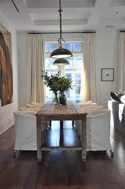 Rolling Dining Room Chairs 336 Best D I N I N G Images On Pinterest Neutral Dining Rooms