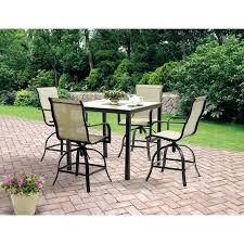Patio High Dining Set Patio High Dining Table Patio Furniture Bar Height Dining Set