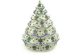 pottery 166 oz tree jar boleslawiec stoneware