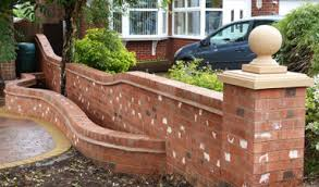 Front Garden Walls Ideas Cecillia Front Garden Brick Wall Ideas Home Devotee