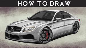 mercedes e class concept how to draw a mercedes e class concept by