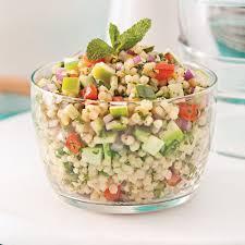 recette cuisine couscous salade de couscous israélien pomme et menthe recettes cuisine
