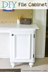 how to build a file cabinet drawer diy file cabinet for my office beneath my heart