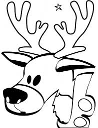 reindeer coloring pages adults tags reindeer coloring pages