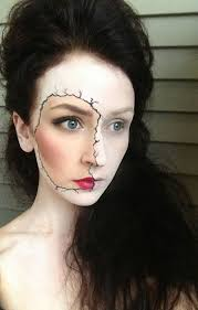 scary contacts for halloween 33 totally creepy makeup looks to try this halloween