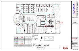 network floor plan layout technology infrastructure