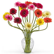 Beautiful Flower Arrangements by Gerbera Daisy Silk Flower Arrangement Beautiful Flowers