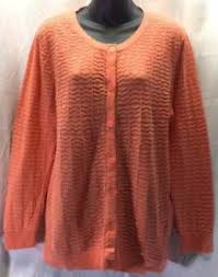 merona sweater merona sweater size large 16 18 orange cardigan textured
