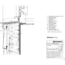 Window Sill Detail Cad St Elevation Panel Rheinzink U K Cad Dwg Architectural