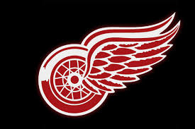 party bus logo detroit red wings game transportation