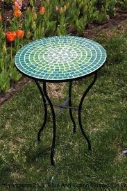 Tile Bistro Table Gorgeous Tile Bistro Table With Mosaic Garden Tables Furniture