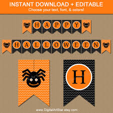 Happy Halloween Printable by Halloween Banner Printable U2013 Festival Collections