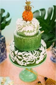 Wedding Cake Green 33 Beautiful And Yummy Tropical Wedding Cakes Weddingomania