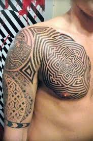 collection of 25 back shoulder polynesian for