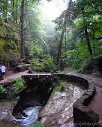 The Devils Bathtub Grandma Gatewood Memorial Hiking Trail Plaque Mapio Net