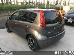 nissan japan cars used nissan note from japan car exporter 1112153 giveucar