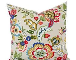 Patio Pillow Covers 15 Off Sale Two Floral Pillow Covers Teal Pillows Patio