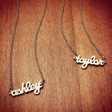 Gold Nameplate Necklaces Indian Jewellery Design 2016 14k Gold Nameplate Necklace