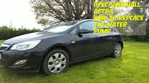 opel meriva 2006 black how to replace the water pump in a vauxhall opel astra youtube